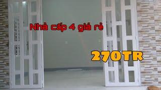 Nhà cấp 4 - Đẹp, hợp túi tiền - Tổng chi phí 270tr