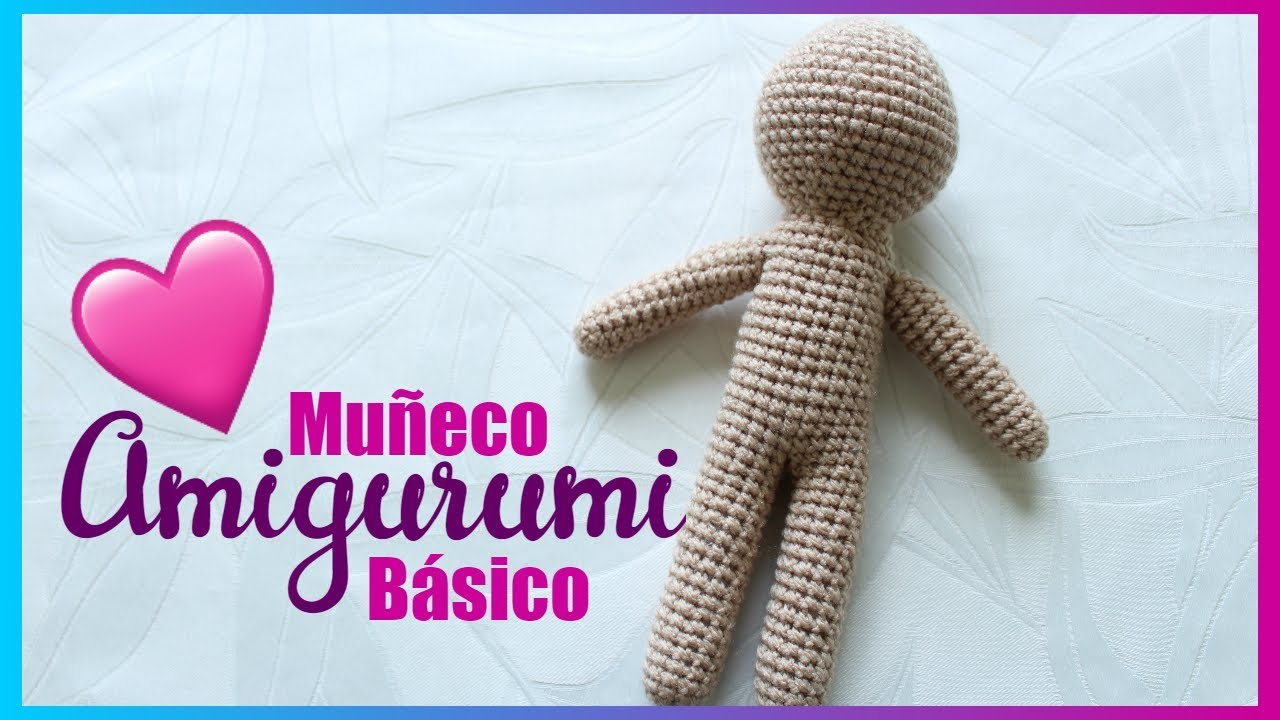 Patrón básico de muñeco/a | Crochet fácil, Crochê livre, Bonecas ... | 720x1280