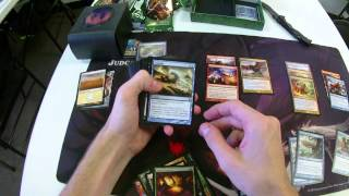 Theros Prerelease Unboxing And Deckbuilding For Magic The Gathering (foil Mythic Pull)