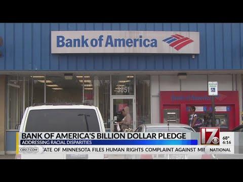 Charlotte-based Bank Of America's Billion Dollar Pledge