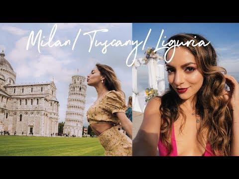 TRAVEL VLOG: ITALY | Milan, Genoa, Savona & Tuscany | Whitney's Wonderland
