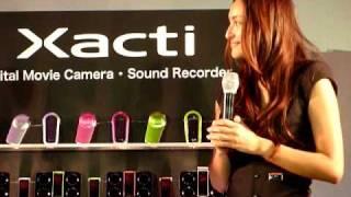2010年1月15日、サンヨーのデジタルムービーカメラ『Xacti(ザクテ...