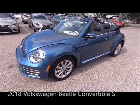 Used 2018 Volkswagen Beetle Convertible S Near Fort Myers and Cape Coral