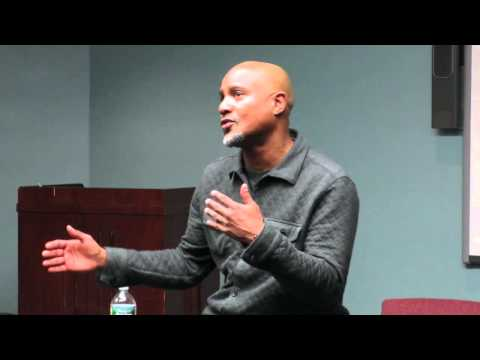 Walking Dead star Seth Gilliam talks to drama students about dealing with rejection