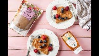 Pancakes de San Valentín
