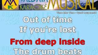 Time After Time Cyndi Lauper Karaoke