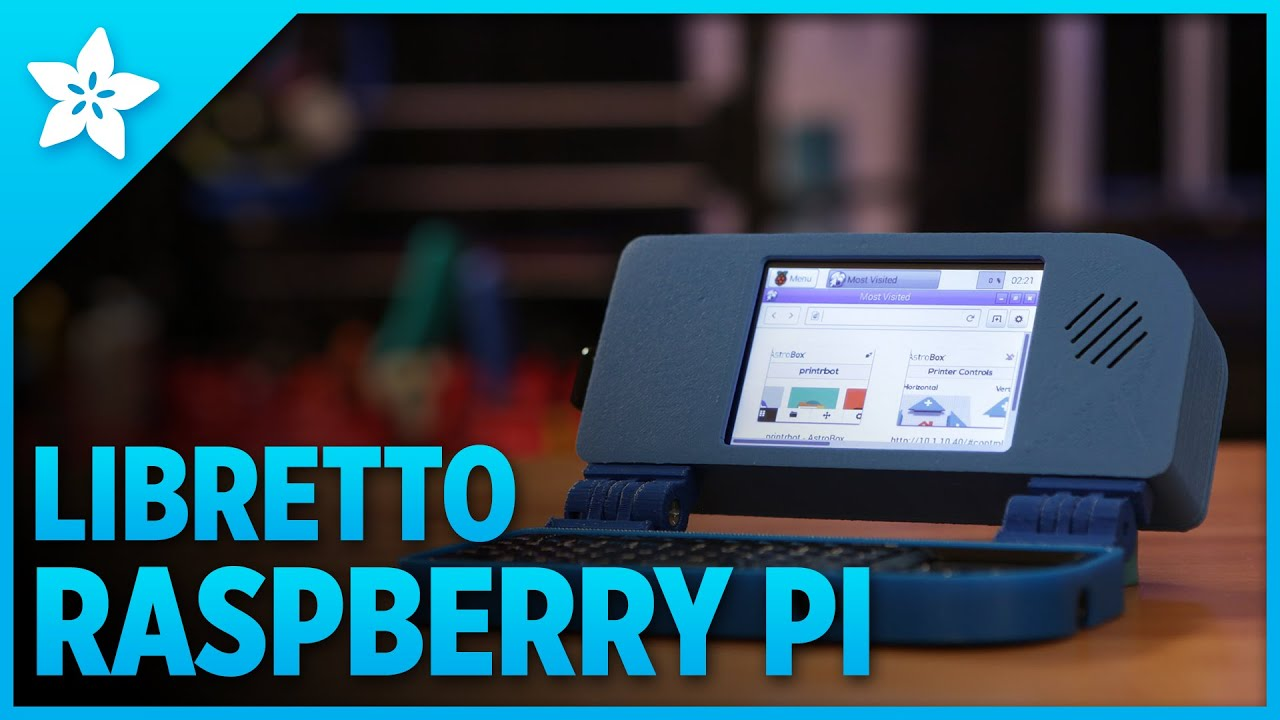 Mini Raspberry Pi Handheld Notebook 3dprinting Adafruit Keep To The Beat Heart Rate Monitor Tutorial Pitop Raspberrypi