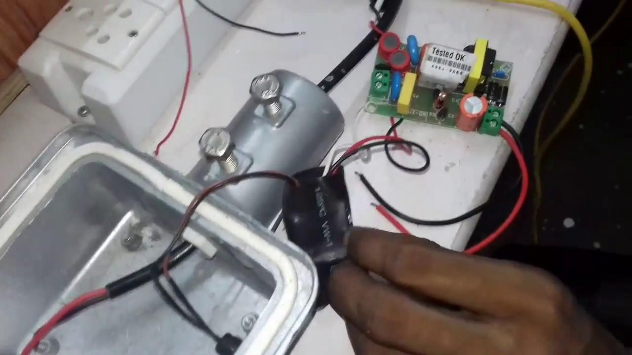 Street Light Making Process Youtube