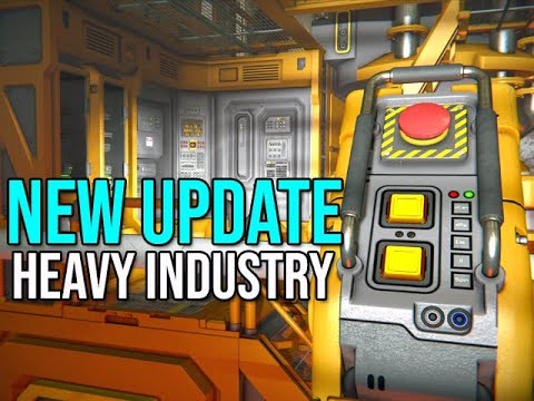 Space Engineers - NEW UPDATE Heavy Industry Magnetic Blocks
