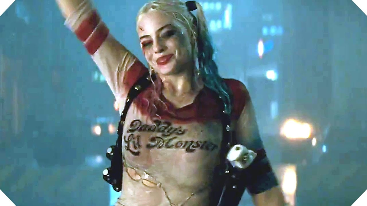 SUICIDE SQUAD Harley Quinn Tv Spot [New Footage]