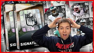 MOST EXPENSIVE PACKS EVER! SIGNATURE BUNDLE PACK OPENING! MADDEN 16 ULTIMATE TEAM