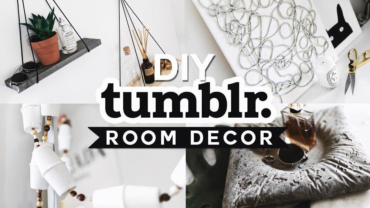 DIY TUMBLR ROOM DECOR (2019) Aesthetic + Affordable - Lone ... on Room Decor Tumblr id=25174