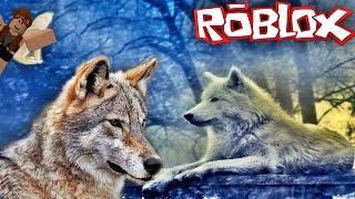 Kurtların Hayatı 🌳😱🌲   Roblox Wolves' Life