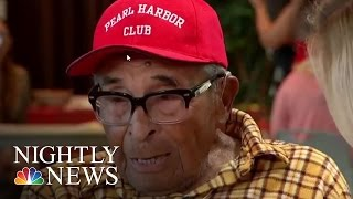 Inspiring America: Ray Chavez, Oldest Living Pearl Harbor Vet, Turns 105 | NBC Nightly News