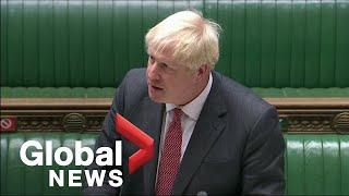 Boris Johnson says plan to break Brexit treaty needed to counter EU's