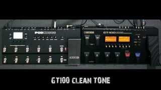 BOSS GT100 vs POD HD500 Suhermanto Harsono