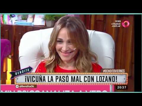 ¡Vicuña la pasó mal con Lozano!