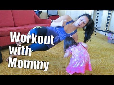 Workout with Mommy- February 25, 2015 ItsJudysLife Vlogs