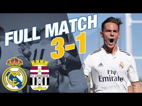 FULL MATCH LIVE | Real Madrid Castilla - Cartagena