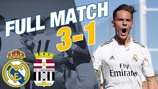 FULL MATCH LIVE | Real Madrid Castilla - Cartagena