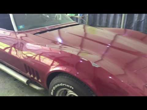 Corvette Paint Removal for Restoration