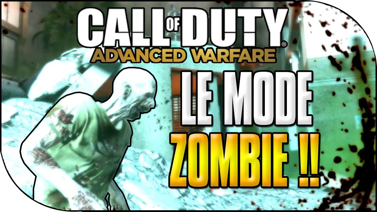 Avoir Les ZOMBIE Sur Call Of Duty Advanced Warfare CoD AW Zombie