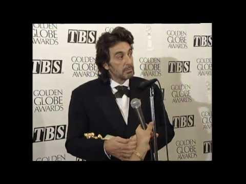Al Pacino Press Interview with Dick Clark - Golden Globes 1993