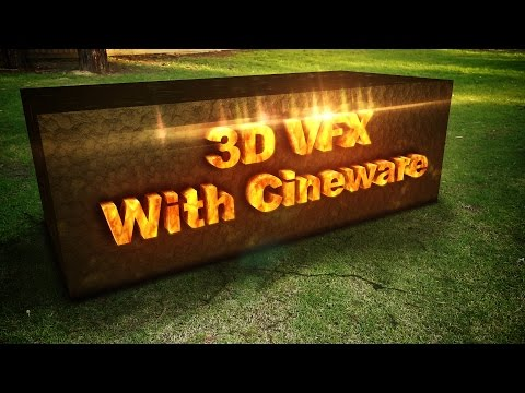 How To Create 3D Effects With The Cineware Plugin