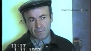 знаменитый вор в законе Реваз Бухникашвили (Пецо)