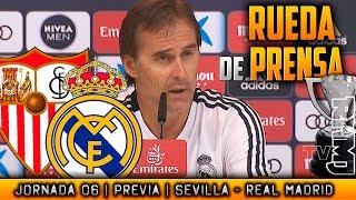 Sevilla - Real Madrid Rueda de prensa de LOPETEGUI (25/09/2018) | ISCO con apendicitis
