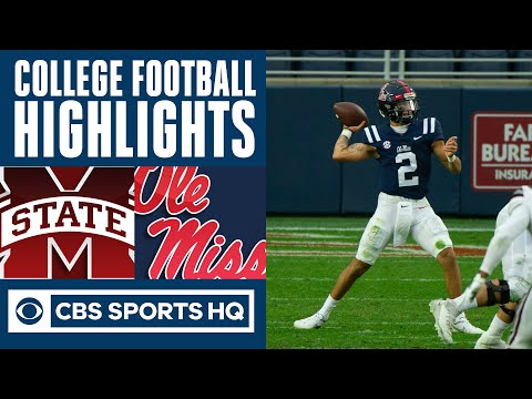 Mississippi State vs Ole Miss Highlights: Rebels jump out early CBS Sports HQ