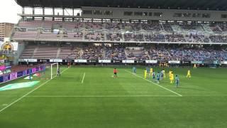 林彰洋選手PKストップシーン バックスタンド側からの映像です。
