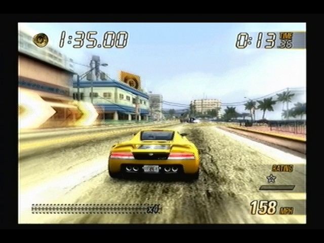 Burnout Revenge: Rank 1 - Sunshine Keys: Burning Lap - Forwards (Perfect Rating)