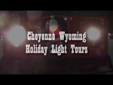 Cheyenne Wyoming Holiday Light Tour 2017
