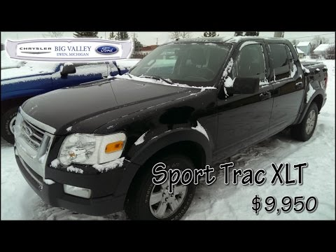 Big Valley Ford In Ewen Used Car Dealer Ford Sport Trac Xlt For Sale
