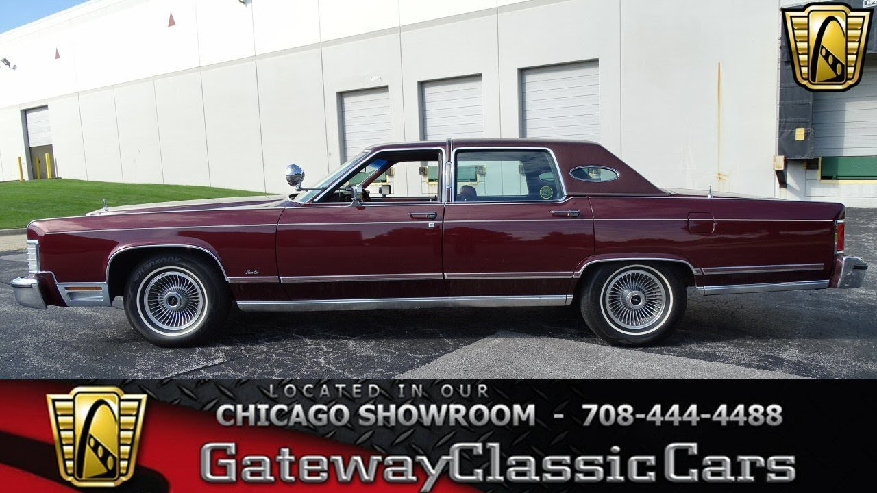 1979 Lincoln Continental Town Car Gateway Classic Cars Chicago #1251 ...