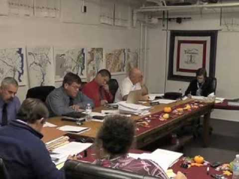 Ticonderoga Town Board Meeting  10-12-13
