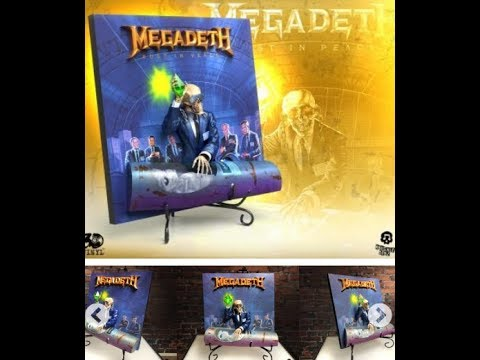 "Megadeth release ""Rust in Peace"" 3D Vinyl collector album - (hed)p.e. finish up new album Mp3"