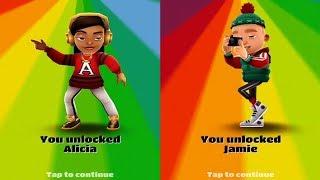 Subway Surfers: Atlanta VS London Gameplay