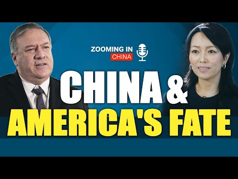 America's Fate| Conversation between Simone Gao and Sec.Pompeo |Olympics| Wuhan Lab|Zooming In