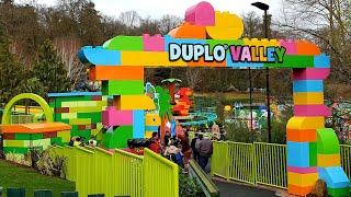 New Duplo Valley & Duplo Dino Coaster Legoland Windsor Opening Day 2020 England Lego Park World 1st