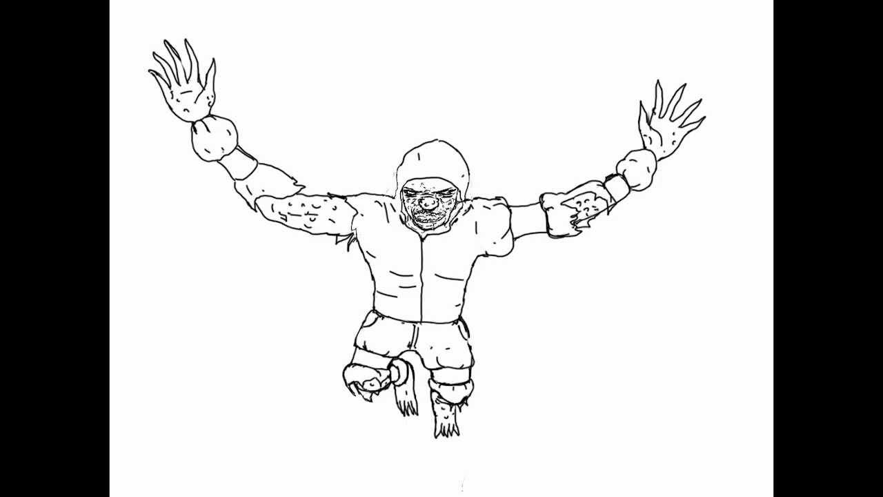 Dibujando un Hunter (L4D2) - YouTube