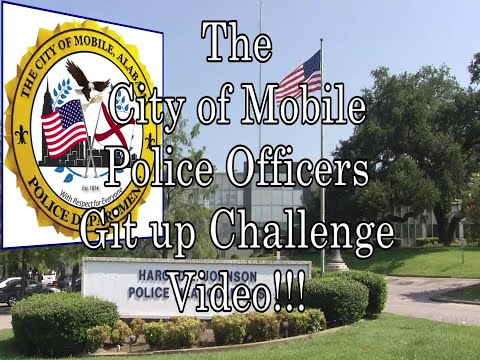 Michael J. - Mobile CHIEF OF POLICE & a bunch of Cops Released Their 'Git Up Challenge'
