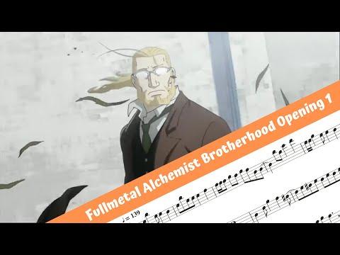Fullmetal Alchemist Brotherhood Opening 1 (Flute)