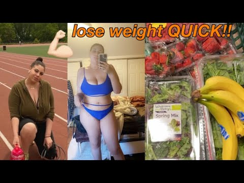How to lose weight FAST! I lost 30lbs in quarantine. TIPS!!
