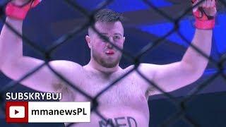 PLMMA 78: Kevin Szaflarski nowym mistrzem wagi ciężkiej