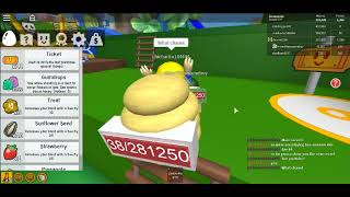Bee swerm simulator new update and i found a secret tounl *roblox*
