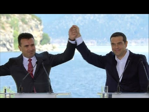 Greece and Macedonia sign deal in bid to end 27-year name row