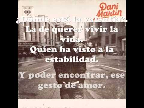 Cada día - Dani Martín (LETRA)