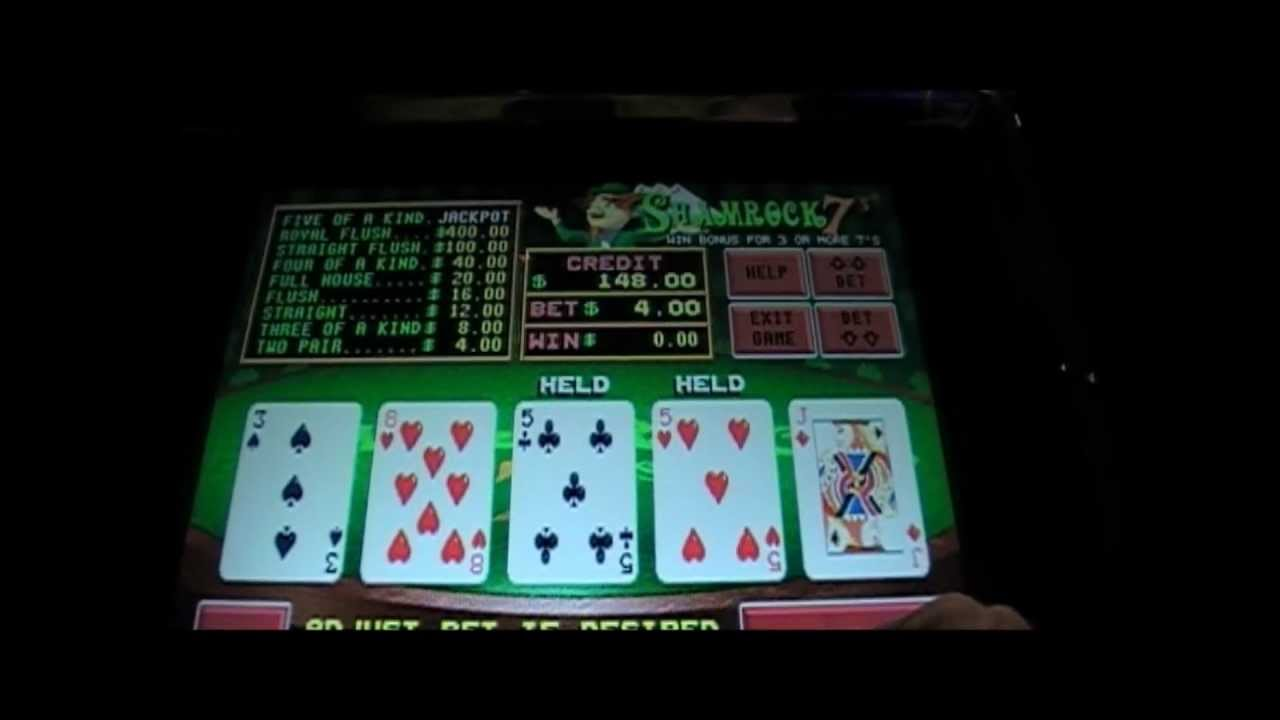 Shamrock 7 video poker online free buckaroo bank slot machine